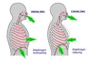 diaphragmatic breathing